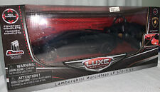 NEW Luxe Radio Control Car Black Lamborghini Murcielago LP 670-4