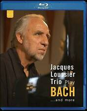 Jacques Loussier Trio Play Bach & More [Blu-ray], New DVDs