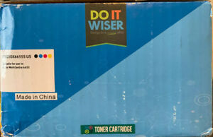 4-Pack Toner Cartridge Set for Xerox WorkCentre 6655 106R02747 High Yield *New*