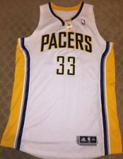 Danny Granger Authentic Indiana Pacers Jersey Adidas Rev 30 Size 3XL +2""