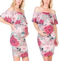 Pregnancy Dress Slinky Black Miss Mum Vintage 90 Size Fr42 Us10 Clothing, Shoes & Accessories Dresses