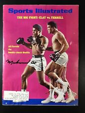 Muhammad Ali Cassius Clay Signed 1967 Sports Illustrated Autograph PSA/DNA