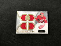 2015-16 UPPER DECK THE CUP DYLAN LARKIN ROOKIE FOUNDATIONS QUAD JERSEY #ed 14/75