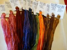 VARIEGATED Collection ,over dyed floss. 12 (20 yd skeins, gift boxed