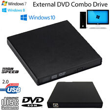 USB IDE Laptop Notebook CD DVD RW Burner ROM Drive External Case Enclosure L