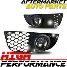 For 2007-2012 Mitsubishi Lancer Fog Light(Wiring Kit Included) Clear