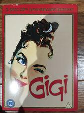 Leslie Caron GIGI ~ 1958 Vincent Minnelli MGM Musical UK DVD w/ Slipcover