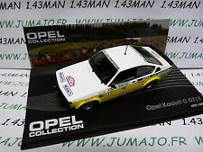 OPE141 voiture 1/43 IXO OPEL collection : KADETT C GT/E Monte Carlo 1978 #7