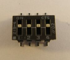 20 Stück - SMD DIP-Schalter 4polig