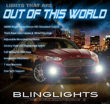 2013 2014 Ford Fusion Xenon Halogen Fog Lamps Driving Light Kit + Harness Switch