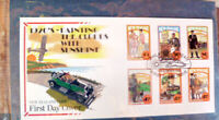 NEW ZEALAND1920s PAINTING THE CLOUDS WITH SUNSHINE 1992 FIRST DAY COVER