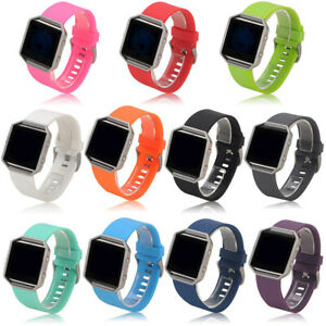 For Fitbit Blaze Silicone Sport Watch Strap Band Wristband Replacement Bands S/L