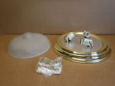 Savant Lighting Ceiling Mount Light 2113-2 Brass Kitchen Bath Lights Lighting