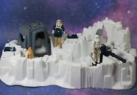 Vintage Star Wars Complete Hoth Imperial Attack Base Playset + Figures Kenner