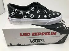 NEW VANS Led Zeppelin Era Limited Edition 50TH Anniversary Men Size 12