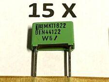 220nF, 63V, 10%, 0,22µF, 0,22uF,  MKT1822, RM10, Roederstein, 15 Stück