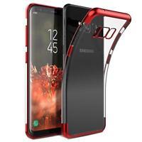 Silikon Glanz Schutzhülle Samsung Galaxy S6 Case Handy Schutz Hülle Tasche Cover