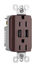 USB OUTLET DK BRONZE