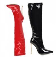 Damen Stiefel Paul Green Booty Boots Leder Gr. 5,5 7,5