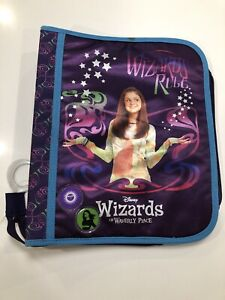 Vintage 2008 Selena Gomez Wizards Of Waverly Place 3-Ring Zipper Binder Unused