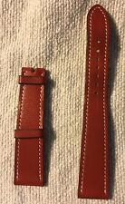 Genuine HERMES  Veau Barenia Leather  Watch Strap 17 mm to 14 mm Light Brown