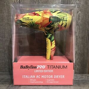 Babyliss Pro Titanium Limited Edition Italian AC Motor Dryer *NEW 2020*