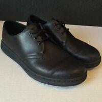 Dr Martens Cavendish BTS soft wair black Leather Shoes mens sz US 9 womens sz 10