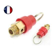 Soupape de sécurité pour compresseur à air, filetage 1/4, réglage maxi à 12 bar