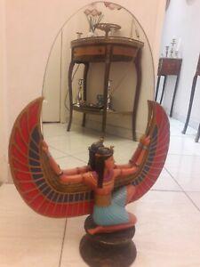 Egypte Grand Miroir Egyptien Déesse Isis