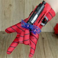 Spider Man Toys Plastic Cosplay Spiderman Glove Launcher Set With Original Box F