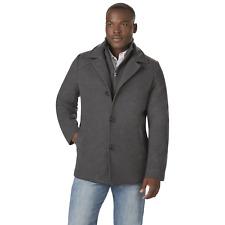 Men's Outdoor Spirit Big/Tall Stroller Jacket Charcoal 3XLT #NKXD5-1165