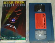 STAR TREK INSURRECTION (vhs,1999,english,stereo,blue tape) working condition