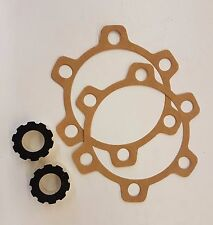 Land Rover Series 2/2a & 3 Felt Oil Seal & Axle Flange Gaskets x2 RTC3515/231505