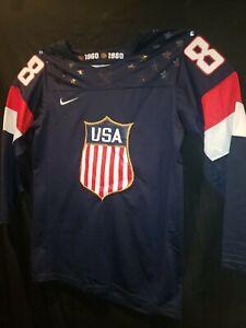 Patrick Kane 88 Team USA Olympics Nike Jersey Size Medium