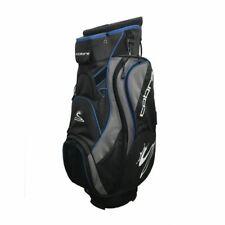 NEW COBRA 15 DIVIDERS CART  BAG BLACK AND BLUE  #G500