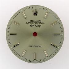 Original Men's Rolex Air-King 34mm Precision Silver Stick 14010 Dial S/S #E44