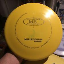Older S-Ms Millennium Yellow/Blue Burst Serius Aurora Ms 171.8 g Disc Golf Domey