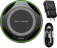 NEW Fast Qi Wireless Charger Pad For iPhone XS/Max/XR/X/8/Plus Galaxy S10/S9/+
