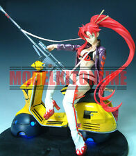 YOKO VESPA MOTORCYCLE TENGEN TOPPA GURRENN LAGANN UNPAINT RESIN FIGURE MODEL KIT