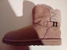 UGG ANALIA Winter Boots Stiefel Lammfell gefüttert chestnut Größe 34-35-36 NEU