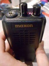 MAXON SP-310 VHF 4CH Hand Held Portable Two Way Radio