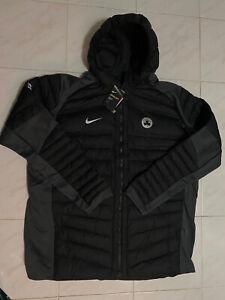 Nike Boston Celtics Team-Issue Aeroloft Men Jacket Black 877825 010 4XLT