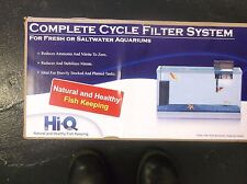 HI-Q COMPLETE CYCLE FILTER SYSTEM NEW 30 gallon all water types. 11.5""