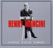 THREE SIDES OF HENRY MANCINI (NEW SEALED 3CD)Lighter Side,Jazzy Side,Darker Side