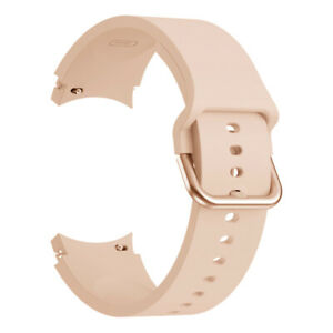 For Samsung Galaxy Watch 4 40mm 44mm Classic 42mm 46mm Silicone Sport Band Strap