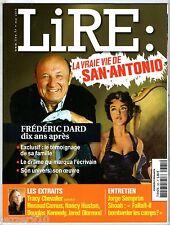 LIRE n°385 # 2010 # LA VRAI VIE DE SAN-ANTONIO/DARD DIX ANS APRES...