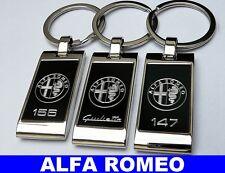 PORTACHIAVI ALFA ROMEO MITO GT GTV GIULIETTA BRERA 33 75 147 156 159 166 4C