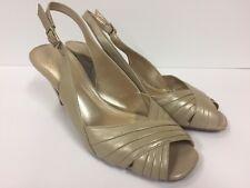 ALEX MARIE Peep Toe Slingback sz 7.5 Heels (RK730)