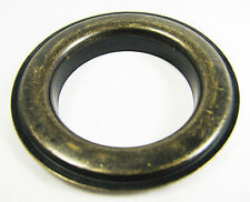 """6pc. Antique Brass Curtain Grommets & Washers - #12 Size (1.5"""" Hole) - 32-37-02"""