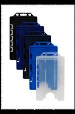 25 stabile Kartenhalter im Hochformat PP für 1 Ausweis
